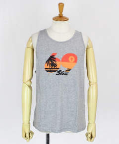 メンズ タンクトップ MEN SINGLET BALI VICE [MSNBVC-GY] GRAY