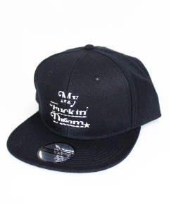MADE IN WORLD☆&CO / メイドインワールドアンドシーオー / M エム / snap back cap  black×white [MIW-M-002-black-white]