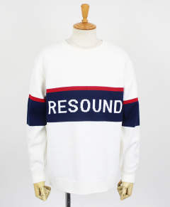 ROGO LOOSE sweater / WHNAVY / [RC9-K-002]