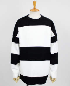 drop loose sweater / BKWH / [RC10-K-002]