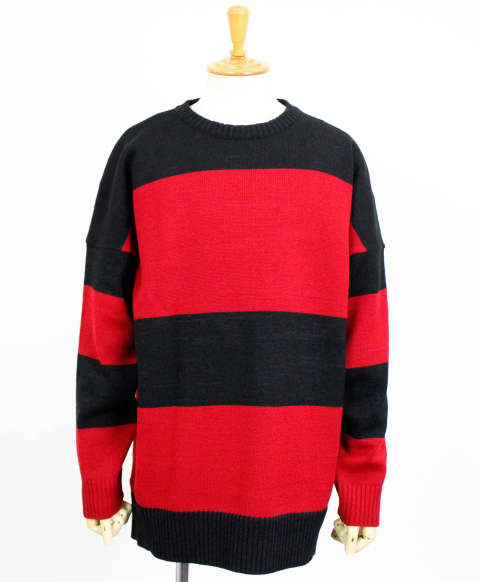 drop loose sweater / BKRD / [RC10-K-002]