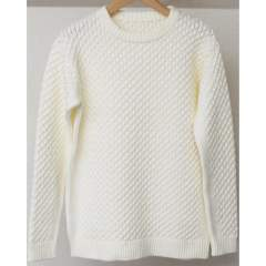 ★LEON12月号掲載★ cable knit / OFF [RC10-K-001]