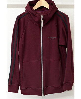 ラインパーカー / LINE SWEAT FLEECE ZIP UP HOODIE / WINE / [RC10-C-001]