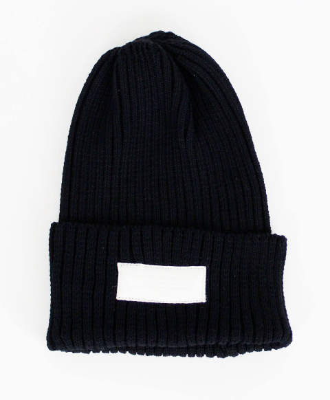 ニットキャップ KNIT CAP BLACK [RC-BASIC-CAP4 BLACK]