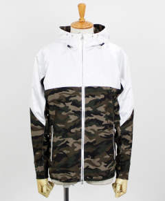 RC11 WARM-UP ZIP HOODIE / WHCAMO / [RC11-JK-001-WHCAMO]