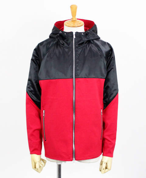 RC11 WARM-UP ZIP HOODIE / RED / [RC11-JK-001-RED]