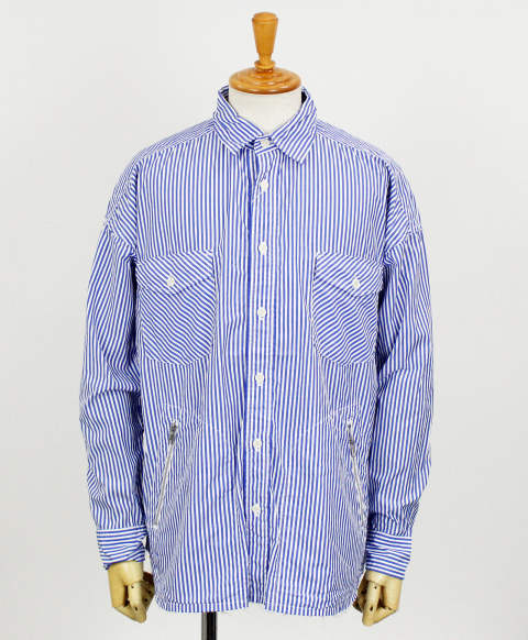 RC11 OVER shirt / BLUEST / [RC11-SH-002-BLUEST]