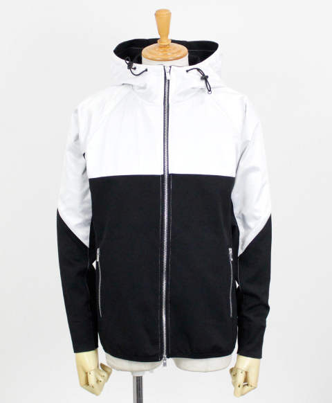 RC11 WARM-UP ZIP HOODIE / WHBK / [RC11-JK-001-WHBK]