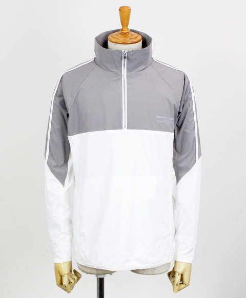 RC11 WARM-UP HALF ZIP Track Jacket / GREY / [RC11-JK-002-GREY]