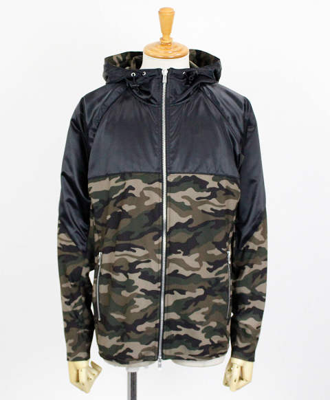 RC11 WARM-UP ZIP HOODIE / BKCAMO / [RC11-JK-001-BKCAMO]