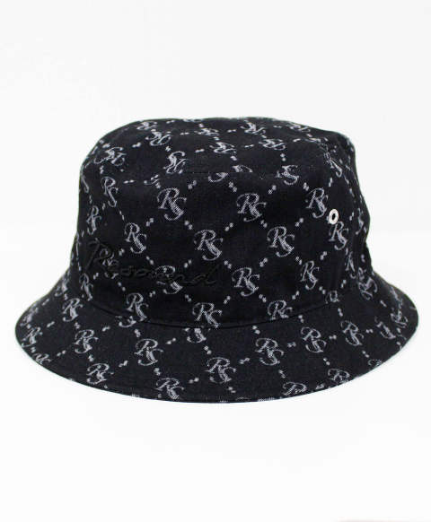 bucket hat / BKMONO [RC-BASIC-CAP17-BKMONO]