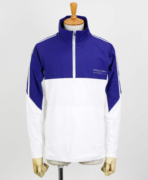 RC11 WARM-UP HALF ZIP Track Jacket / BLUE / [RC11-JK-002-BLUE]