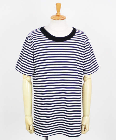 RC11 loose layered TEE / BORDERBK [RC11-T-005-BORDERBK]
