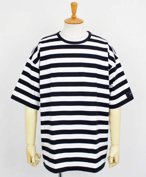 loose jersey TEE / BORDER1 / [RC12-T-007]