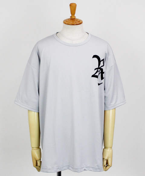 RC11 OLD RC loose MESH TEE / GREY [RC11-T-007-GREY]