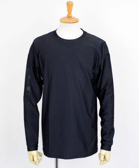 SLEEVECLUB LONG RUSH TEE / BLACK×BLACK / [RC12-T-014]