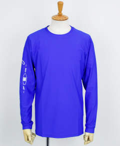 SLEEVECLUB LONG RUSH TEE / BLUE / [RC12-T-014]