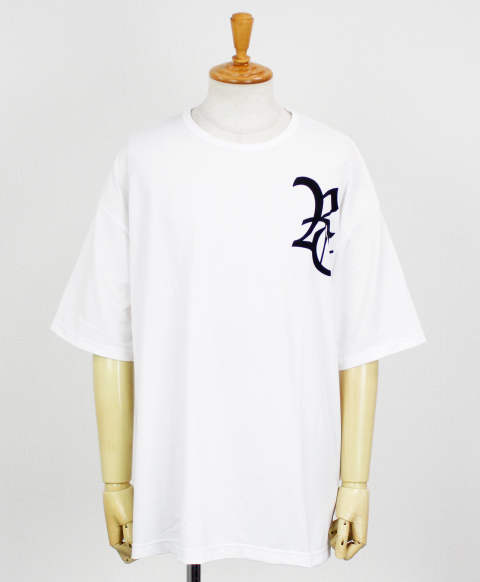 RC11 OLD RC loose MESH TEE / WHITE [RC11-T-007-WHITE]