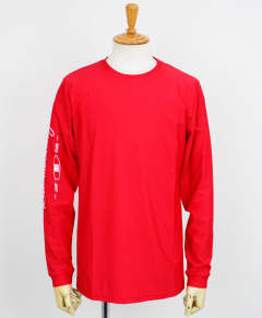 SLEEVECLUB LONG RUSH TEE / RED / [RC12-T-014]