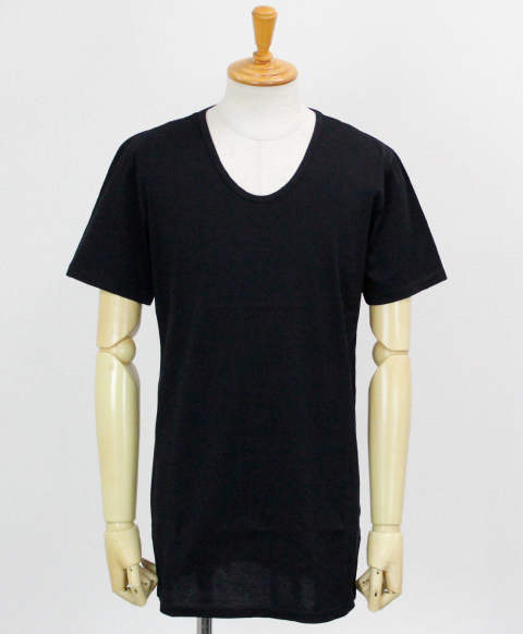 U LONG length TEE / BLACK 【RC12-T-002】