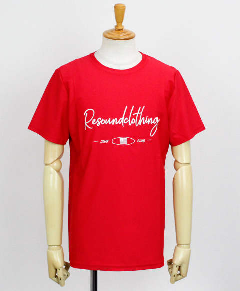 CLUB RUSH TEE / RED【RC12-T-011】