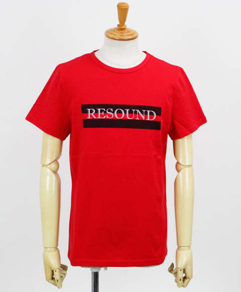 LINE ID ROGO TEE / RED【RC12-T-002】
