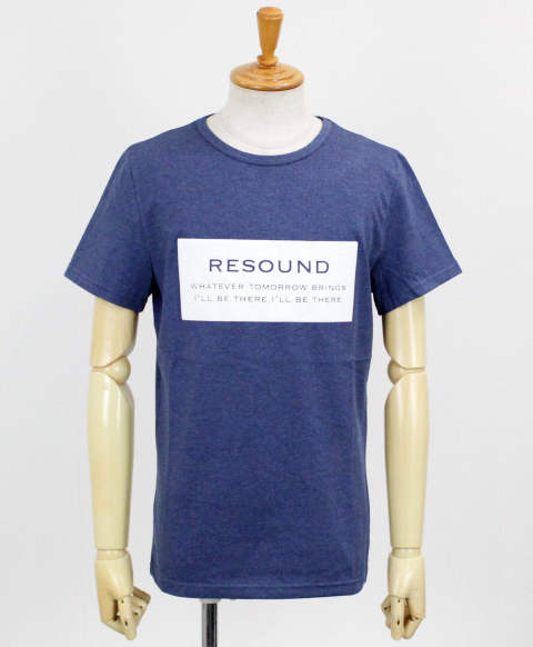 BOX ID ROGO TEE / BLUE【RC12-T-006】