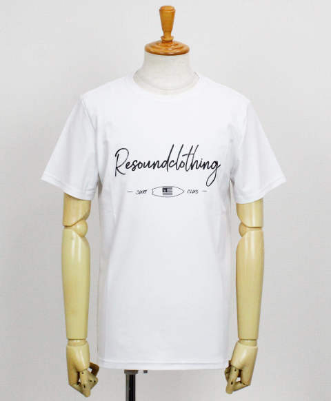 CLUB RUSH TEE / WHITE【RC12-T-011】