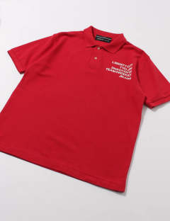 [THE MOST IMPORTANT SHOT] DRY POLO SHIRT / RED