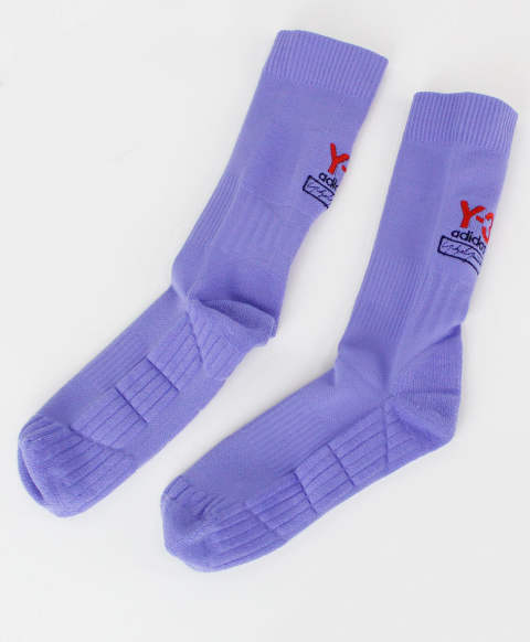ソックス Y-3 LOGO SOCK [FI6752-ACCA19] PURPLE