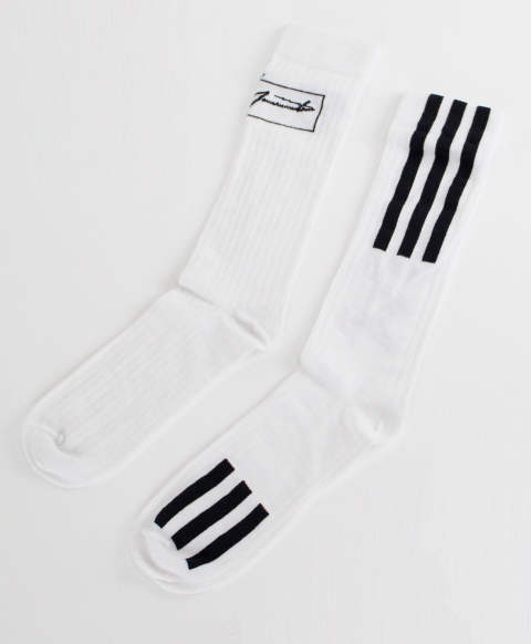 ソックス WO NYL SOCK [FI6755-ACCA19] OFF WHITE