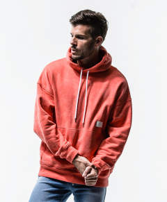 RC13 Processing loose hoodie / ORANGE