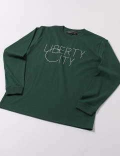 LIBERTY CITY / リバティーシティ / [BIG C] LONG SLEEVE TEE / GREEN