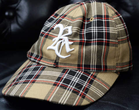 RESOUND CLOTHING / リサウンドクロージング / RC low cap / CHECK [RC14-A-001]