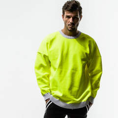 RESOUND CLOTHING / リサウンドクロージング / Jersey loose sweater / LIME [RC14-K-003]
