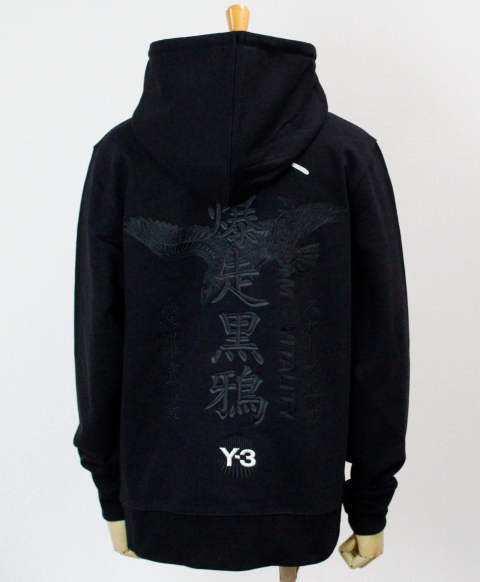 ロゴ パーカー U CRFT GRAPHIC HOODIE [GD5030-APPS20] BLACK/SILVER