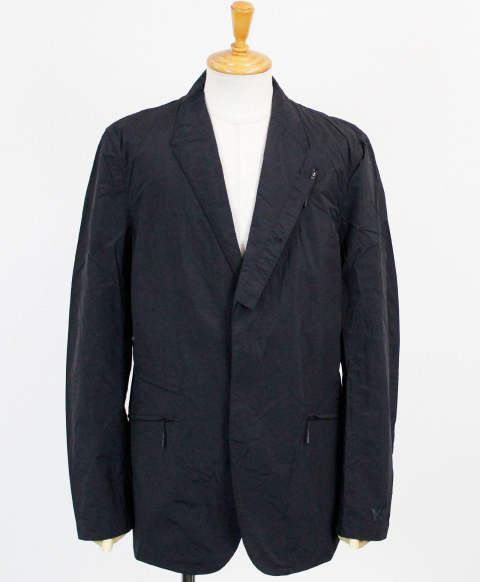 ナイロン テーラードジャケット M CLASSIC CROSS-DYED NYLON BLAZER [FN3412-APPS20] BLACK