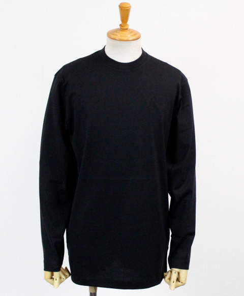 ロゴ L/S Tシャツ M CLASSIC CHEST LOGO LS TEE [FN3361-APPS20] BLACK