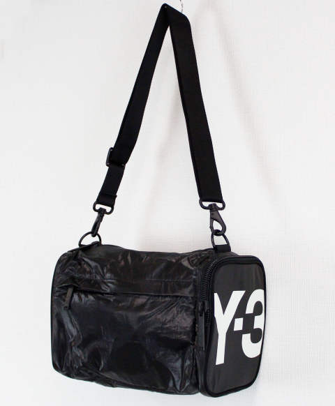 ミニバッグ Y-3 MINI GYMBAG [FQ6973-ACCS20] BLACK 852A/CORE WHITE 076A