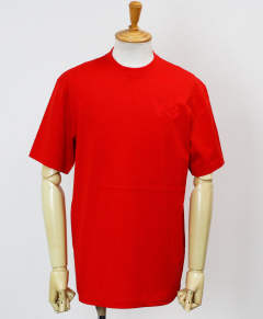 ロゴ S/S Tシャツ M CLASSIC CHEST LOGO SS TEE [FN3360-APPS20] ADI RED